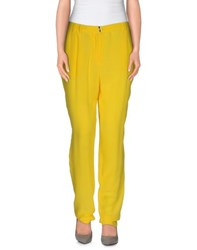 Vdp Club Trousers Casual Trousers Women Yellow