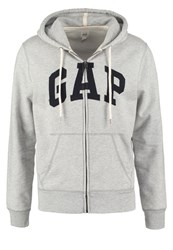 Gap Tracksuit Top Heather Grey Mottled Grey