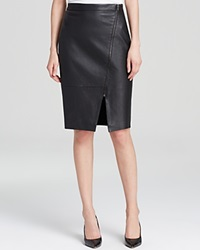 Dylan Gray Leather Front Pencil Skirt Bloomingdale's Exclusive