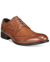 Unlisted Men's Wait List Hx Oxfords Men's Shoes Cognac