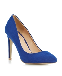 Head Over Heels Bellini High Heel Court Shoe Blue