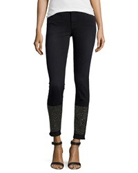 J Brand Jeans Petra Studded Skinny Jeans Alley Cat