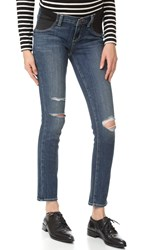 Paige Maternity Verdugo Ankle Jeans Adira Destructed