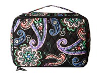 Vera Bradley Large Blush Brush Makeup Case Kiev Paisley Cosmetic Case Multi