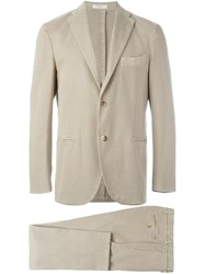 Boglioli Two Piece Suit Nude And Neutrals