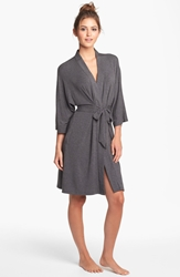 Dkny 'Urban Essentials' Robe Charcoal Heather