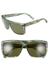 Electric Eyewear Women's Electric 'Black Top' 61Mm Flat Top Sunglasses Mason Tiger Grey