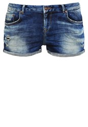 Ltb Judie Denim Shorts Muriel Wash Dark Blue