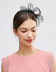 Asos Basic Fascinator Headband Black