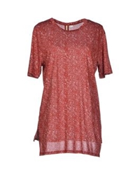 Silent Damir Doma T Shirts Red