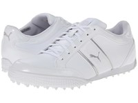 Monolite Cat White Puma Silver Women's Golf Shoes