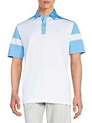 Callaway Colorblocked Polo Provence
