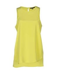 Tibi Tops Acid Green