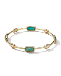 18K Gold Rock Candy Gelato 8 Stone Bangle Sailor Ippolita