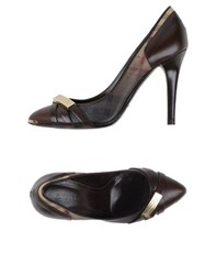 Burberry London Footwear Courts Women Dark Brown