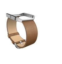Fitbit Blaze Camel Leather Accessory Band Large
