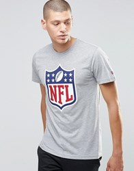 New Era Nfl Shield T Shirt Grey