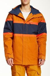 Quiksilver Fraction Snow Jacket Brown