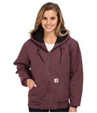 Carhartt Sandstone Active Jacket Dusty Plum Women's Coat Pink