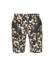 Givenchy Floral Print Cotton Shorts