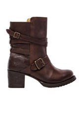 Frye Vera Strappy Boot Brown