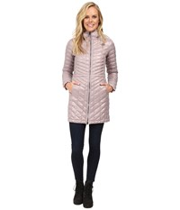The North Face Thermoball Hooded Parka Quail Grey Women's Coat Pink