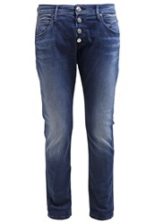 Replay Pilar Relaxed Fit Jeans Tinted Blue Blue Denim