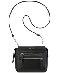 Nine West Zip Small Crossbody Black