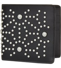 Dsquared2 Acc Star Studded Leather Wallet Nero