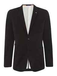 Peter Werth Sorcha Button Blazer Black