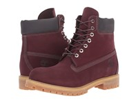 Timberland 6 Premium Boot Autumn Mashup Dark Port Nb Men's Work Boots Burgundy