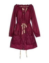 Hoss Intropia Full Length Jackets Garnet
