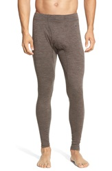 Smartwool Layering Pants Taupe Heather