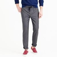 J.Crew Wallace And Barnes Drawstring Suit Pant In Grey Italian Wool