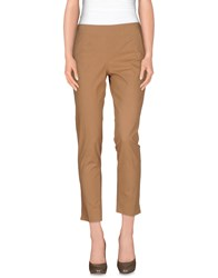 Kiltie Trousers Casual Trousers Women Camel