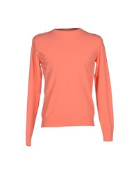 Mas_Q Knitwear Jumpers Men Coral