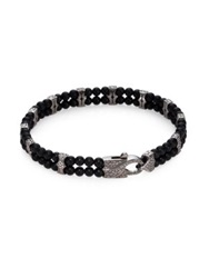 Stephen Webster Beaded Link Bracelet Onyx