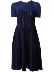 Andrea Incontri Knitted Dress Blue