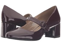 Bandolino Onni Wine Patent Women's Shoes Burgundy