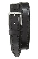 Men's Johnston And Murphy Perforated Leather Belt