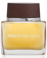 Kenneth Cole Signature Eau De Toilette Spray 1.7 Oz No Color