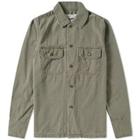 Remi Relief Military Shirt Jacket Green