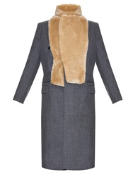 Toga Double Breasted Wool Coat