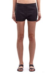 Acne Studios Acne Womens Wool Sailor Shorts Black
