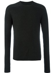 Rick Owens Crew Neck Jumper Grey