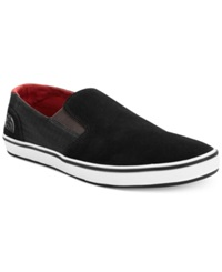The North Face Base Camp Lite Slip On Shoes Men's Shoes Black Red