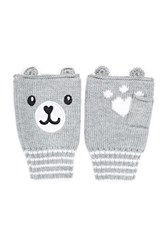 Forever 21 Fingerless Bear Gloves