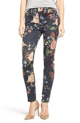 7 For All Mankindr Women's Mankind Floral Ankle Skinny Jeans