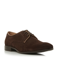 Roland Cartier Brandon Suede Gibson Brogues Brown