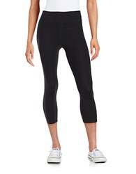 Calvin Klein Cropped Compression Pants Black